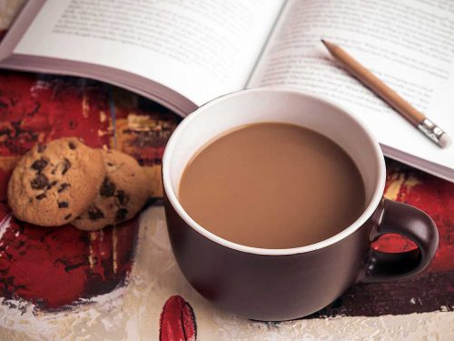 Chocolate con leche de coco